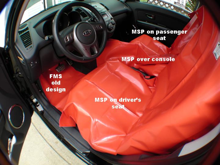 Netcore Seat Protector Never Falls Off Netcore